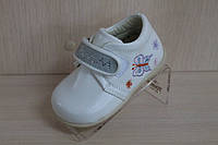 Детские ботиночки на девочку, демисезонная обувь, красивые белые ботиночки Tom.m, фото 1
