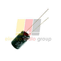 Конденсатор электролитический 470мкф 16В 8x11,5 105°C