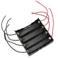 10шт DIY 4 слота 18650 Батарея Держатель с 8 проводами
