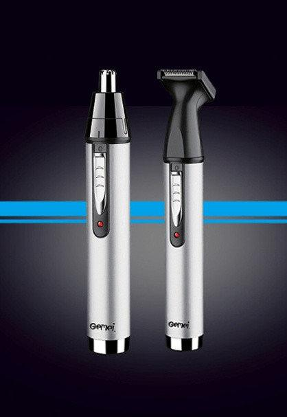 Триммер для носа, ушей, висков и шеи Gemei GM-3105 2 в 1