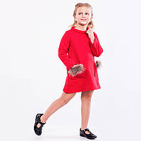 Платье детское теплое  « С начесом   ».