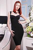 Модное женское платье-корсет
