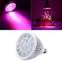 54W E27 LED Full Spectrum Grow Light Лампа Blub для крытого гидропоника Растение Flower