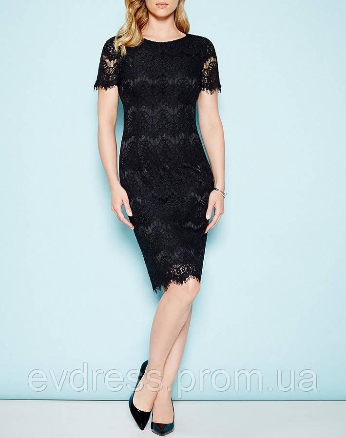 b0897e33ace Вечернее коктейльное миди платьес короткими рукавами из каталога ...