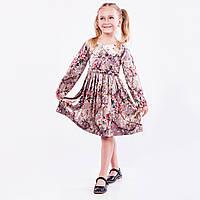 Платье детская  « Велюровое  ». Нарядное , фото 1