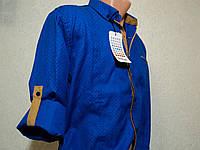 Яркая мужская рубашка-трансформер G-PORT