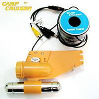 CC-12WS20-Fish Finder Camera, Подводная видеокамера для рыбалки 12 белых светодиодов, 15 м кабель, фото 1