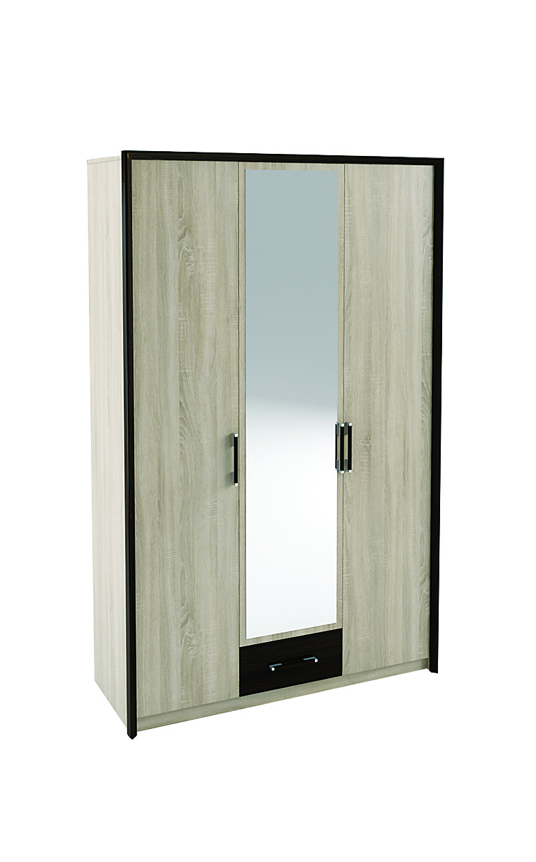Шафа 3 дверна  Спальня Скарлет