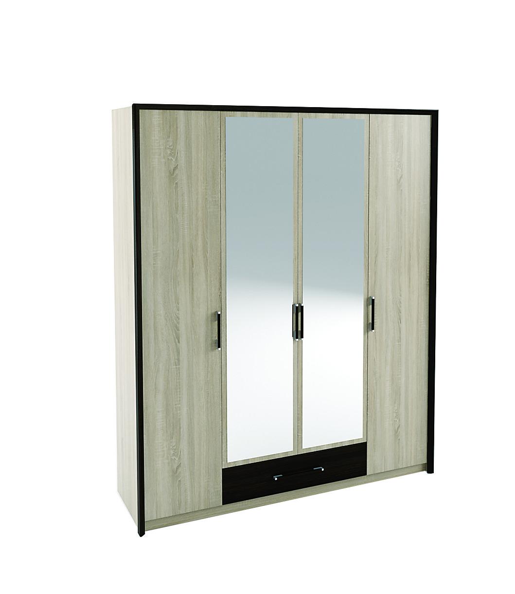 Шафа 4 дверна Спальня Скарлет