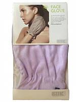 Перчатка для лица SMART Microfiber System фиолетового цвета