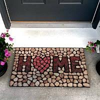 Honana WX-K3 Домашние камни 3D-дверной коврик Резиновый коврик Противоскользящий коврик для пола Ванная комната Коврик
