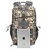 Тактический Штурмовой Военный Рюкзак на 30литров пиксель, фото 4