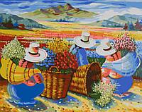 Картина антистресс (40х50см) Сбор урожая