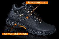 Мужские зимние кожаные ботинки Ecco Infinity black