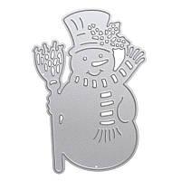Снеговик для резки металла DIY Скрапбукинг Альбом для бумажных карточек с тиснением