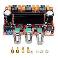 Плата цифрового усилителя D класса 2.1 TPA3116 2х50Вт + 100Вт, фото 1