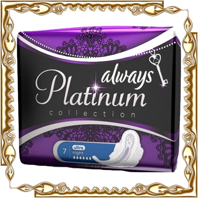 Прокладки Always Platinum 6 крапель