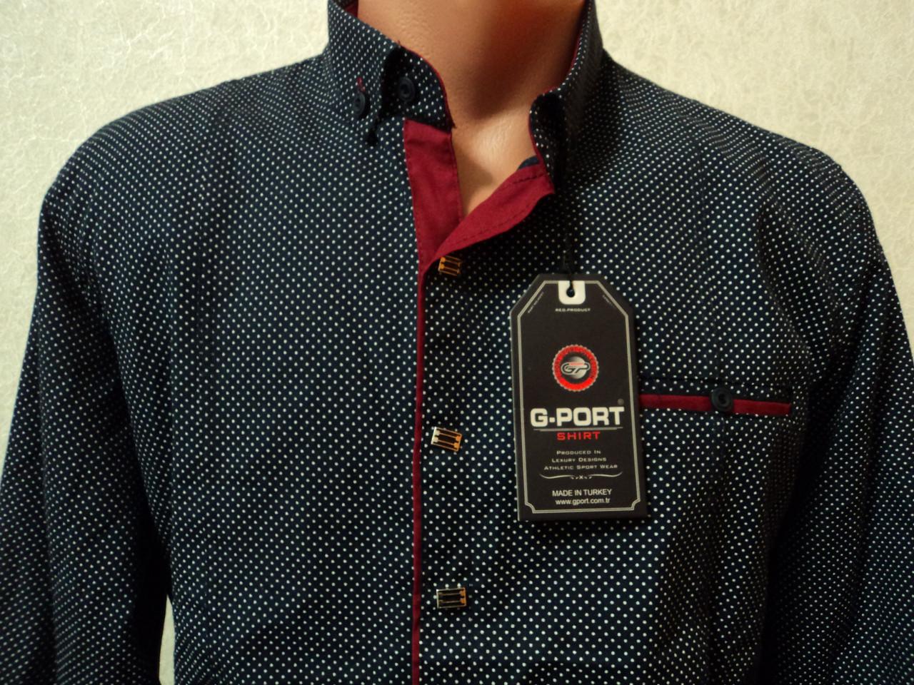 cbef0de80c3dec3 Стильная мужская рубашка от турецкой фирмы G-PORT: продажа, цена в ...