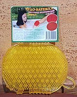 Варежка массажная из силикона 2 стороны массажа - медицинская антицеллюлитная, удобная, практичная,эффективная