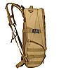 Тактичний Штурмової Військовий Рюкзак на 35литров Чорний, фото 2