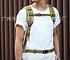 Тактичний Штурмової Військовий Рюкзак на 35литров Чорний, фото 6