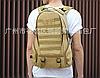 Тактичний Штурмової Військовий Рюкзак на 35литров Чорний, фото 7