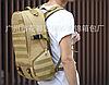 Тактичний Штурмової Військовий Рюкзак на 35литров Чорний, фото 8
