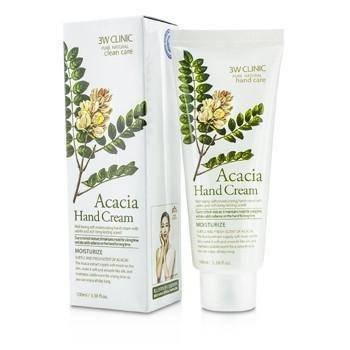 Увлажняющий крем для рук 3W Clinic Acacia Hand Cream, 100 мл, фото 2