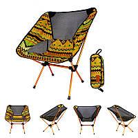 IPRee™PortableКемпингBBQСкладной стул Сверхлегкий алюминиевый сплав Спинка Макс.Нагрузка 150 кг