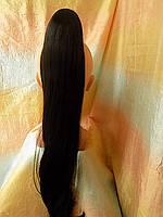 Хвост прямой на крабе черный мокка ELEGANT Т4050-2