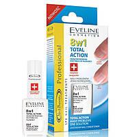 """Eveline """"Здоровые ногти"""" Лечебный препарат для ногтей 8в1 Cosmetics Nail Therapy Total Action"""