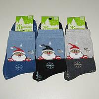 Женские махровые носки Топ-Тап - 11.50 грн./пара (Дед Мороз), фото 1