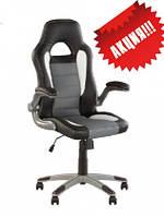 Кожаное кресло руководителя RACER ECO