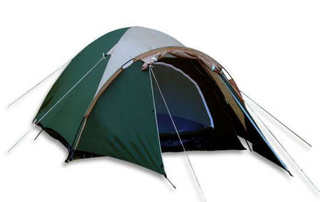 Палатка Presto Aссо 4-х местная зелёная