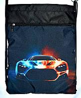 Детский розовый рюкзак - затяжка для мальчика 34*43, фото 1