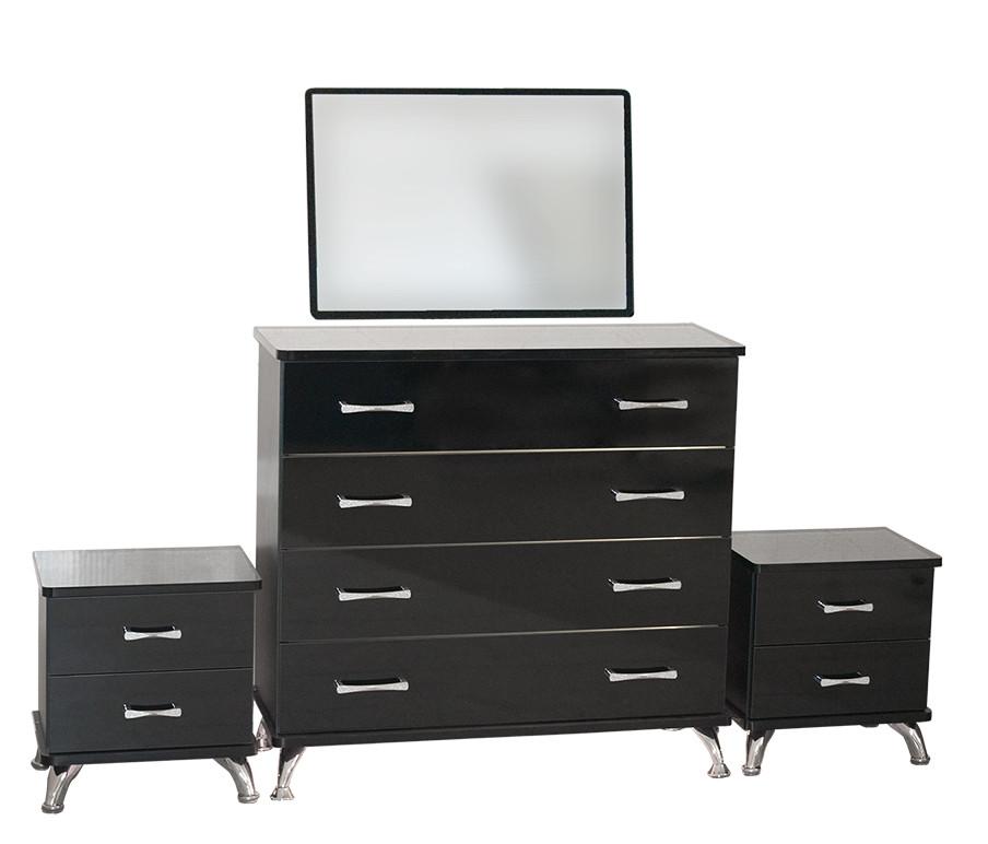 Комплект мебели для спальни «Ellegance» (черный)