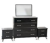 Комплект мебели для спальни «Ellegance» (черный), фото 1