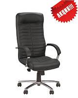 Кожаное кресло руководителя Orion steel chrome ECO