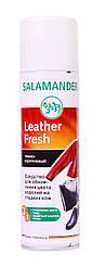 """Краска для гладкой кожи Salamander """"Leather Fresh"""" 250 ml  (цвет темно-коричневый)"""