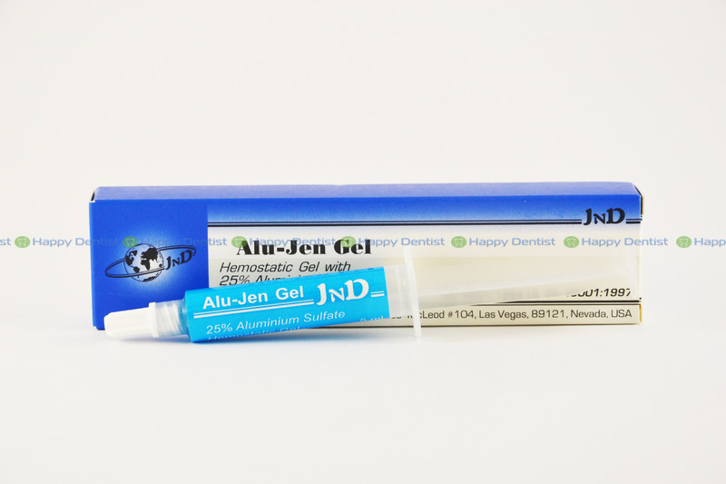 ALU-JEN GEL (Алю Джен Гель) для ретракции десен