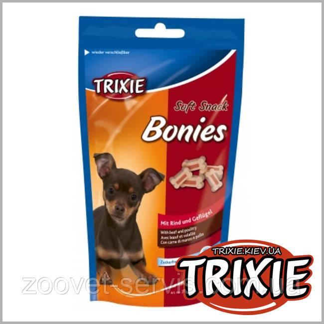 Лакомство для собак с говядиной и индейкой Bonies Trixie 31491