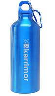 Алюминиевый бутыль (фляга) 600 ml. Karrimor, синий. Великобритания, оригинал, фото 1