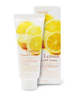 Увлажняющий крем для рук 3W Clinic Lemon Hand Cream, 100 мл, фото 2