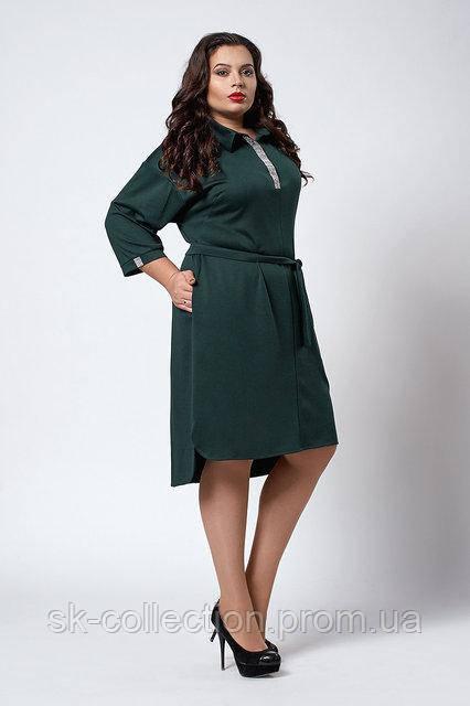 42aa622e48373cd Стильное женское платье больших размеров, размеры 52, 54, 56, 58, 60 ...