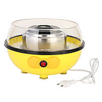 110/220V Портативный электрический DIY Сахарная фломастеры для изготовления карнавалов Желтая хлопковая конфетная машина 455W