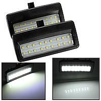 Универсальный 1 пара 12v зеркало козырек LED свет лампа для BMW F10 F07 F01 f11 f02 f03