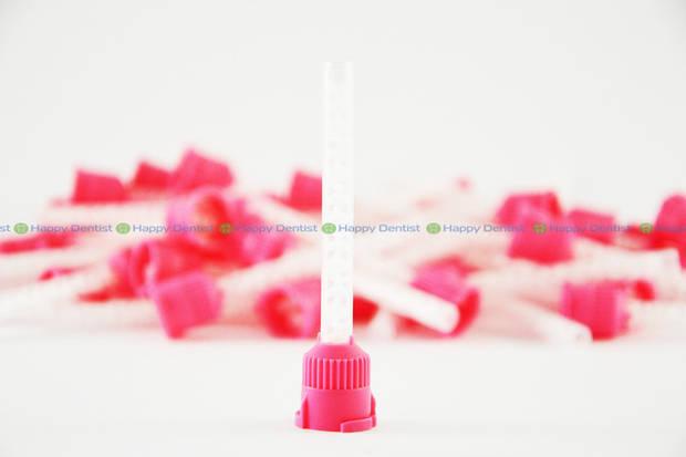 Насадки розовые MIX 1:1 для картриджей