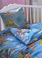 Комплект постельного белья детский Ранфорс Leleka-textile Щенячий патруль