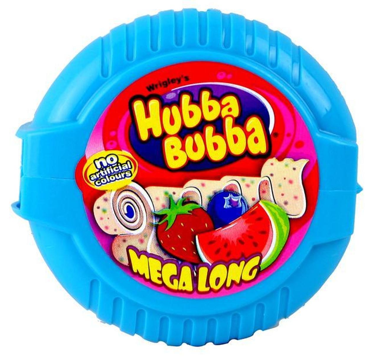 Жевательная резинка Hubba Bubba Tape Triple Mix Хубба-Бубба ягодный микс