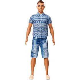 Кукла Barbie Кен Fashionistas Модник Джинсовый стиль #13 FNJ38